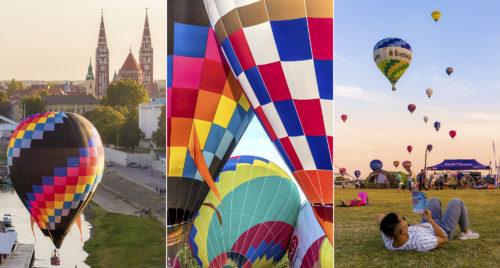 A nemrég véget ért 2018-as szegedi hőlégballon kupa válogatott fotói