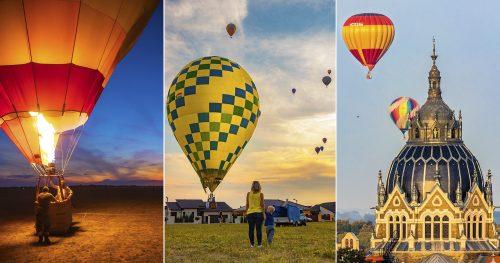 Hat napon át uralták Szeged légterét a hőlégballonok, idén szeptemberben is