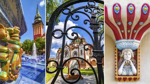 Szecessziós séta Szabadkán, Szeged testvérvárosában