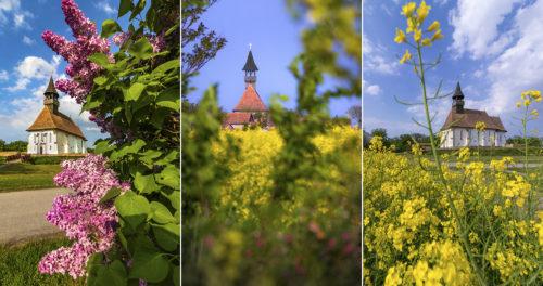 Tavaszi fotósorozat az Óföldeáki-erődtemplomról, ami Szeged környékének egyik legrégebbi műemléke