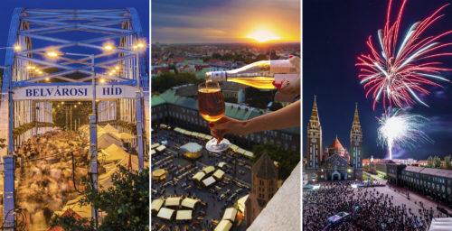 Ma van Szeged Napja, azaz 301 éve kapott szabad királyi városi címet városunk. Isten éltesse a napfény városát!