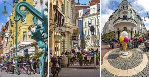 Friss fotóanyag az újrainduló Szegedről: sorra nyitnak ki a vendéglátóhelyek és telik meg újra élettel a belváros