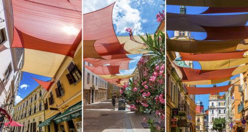 Újabb javaslat érkezett a pécsihez hasonló napvitorlák felszerelésére, a szegedi belvárosban