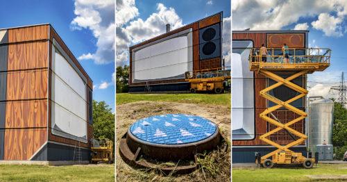 Újabb szegedi fűtőmű újult meg, szombattól retró óriás TV-n mozizhatunk a Fűtőmű utcában