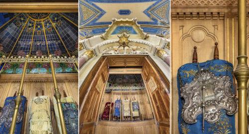 A szegedi zsinagóga tóratartó szekrényének titkai