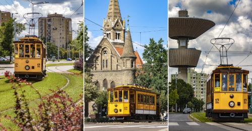 Friss fotók: 2020 nyarán is rója a köröket Szeged kedvenc nosztalgiavillamosa