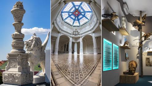 Friss fotósorozat a nemrég átadott és gyönyörűen felújított szegedi Móra Ferenc Múzeumból