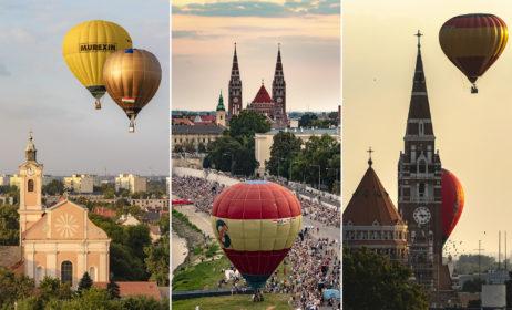 2020 szeptemberében ismét hőlégballonok tarkítják Szeged egét