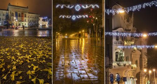 Fotósorozat: így gyúltak fel 2020 adventi fényei a szegedi belváros utcáin