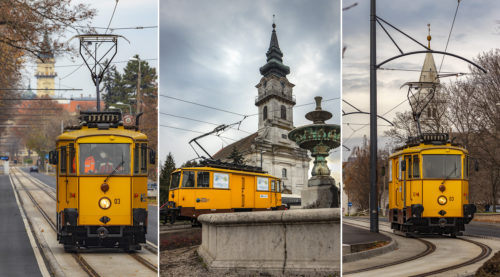 Történelmi fotók: a napokban először közlekedett villamos, az újonnan elkészült vásárhelyi vonalhálózaton